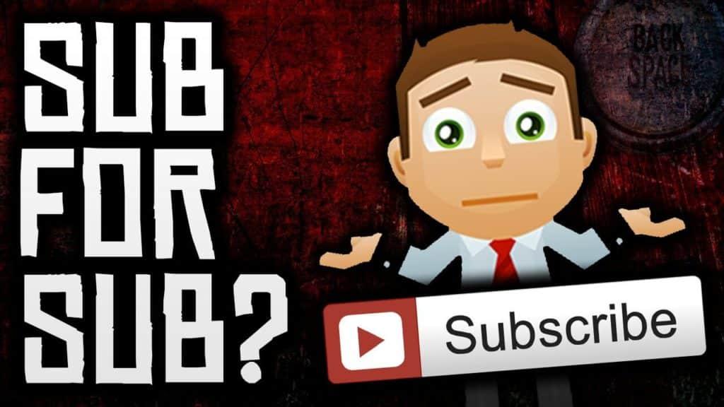 sub for sub-