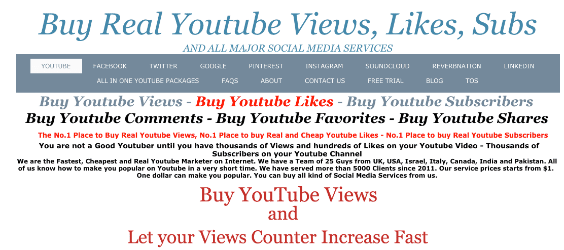 Purchase YouTube Likes Review - Read This Before Buying YouTube Views